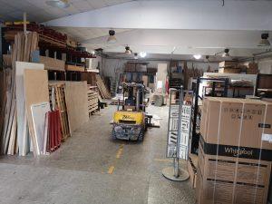 almacén de materiales