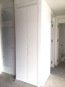 armario lacado en blanco