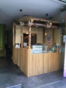 cabaña del bar