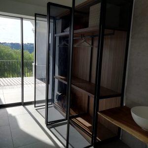 armario de vidrio