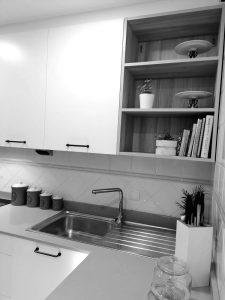 expositor de la cocina