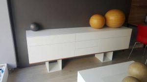 Mueble tv de Corian